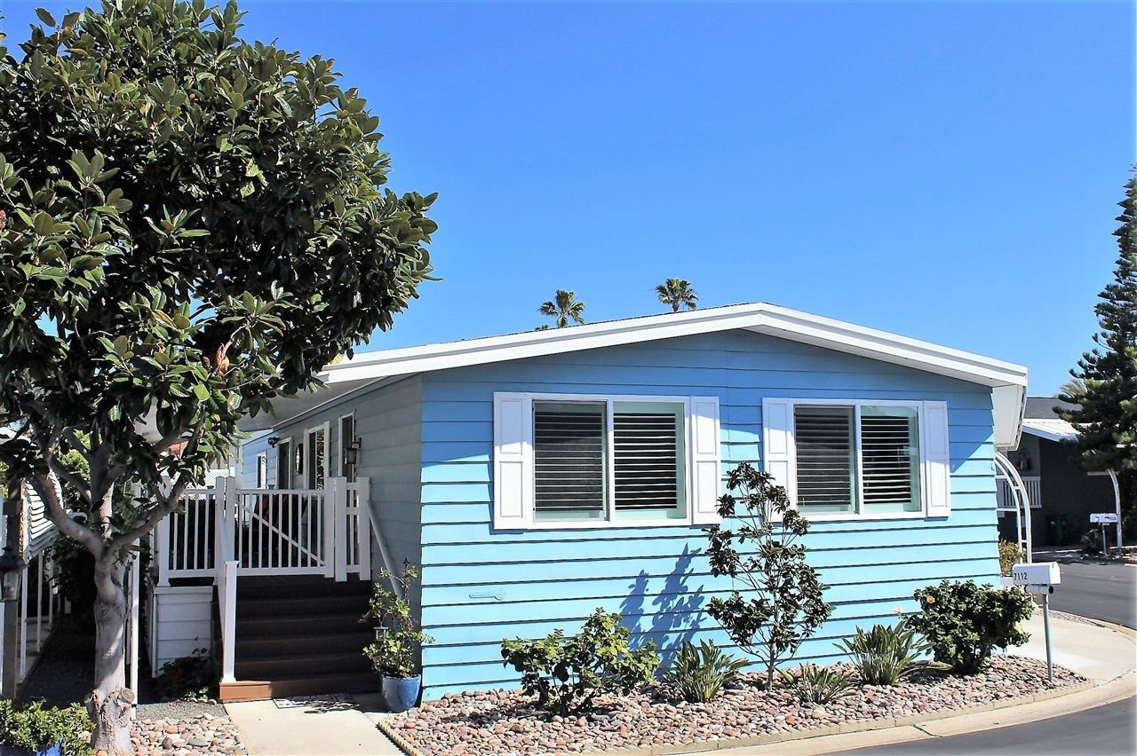 Main Photo: CARLSBAD WEST Manufactured Home for sale : 2 bedrooms : 7112 Santa Cruz #53 in Carlsbad