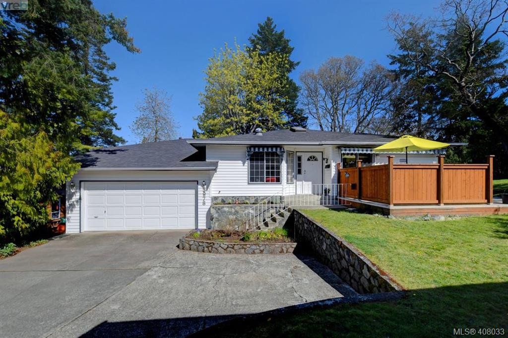 Main Photo: 3978 Hopkins Dr in VICTORIA: SE Maplewood House for sale (Saanich East)  : MLS®# 810909