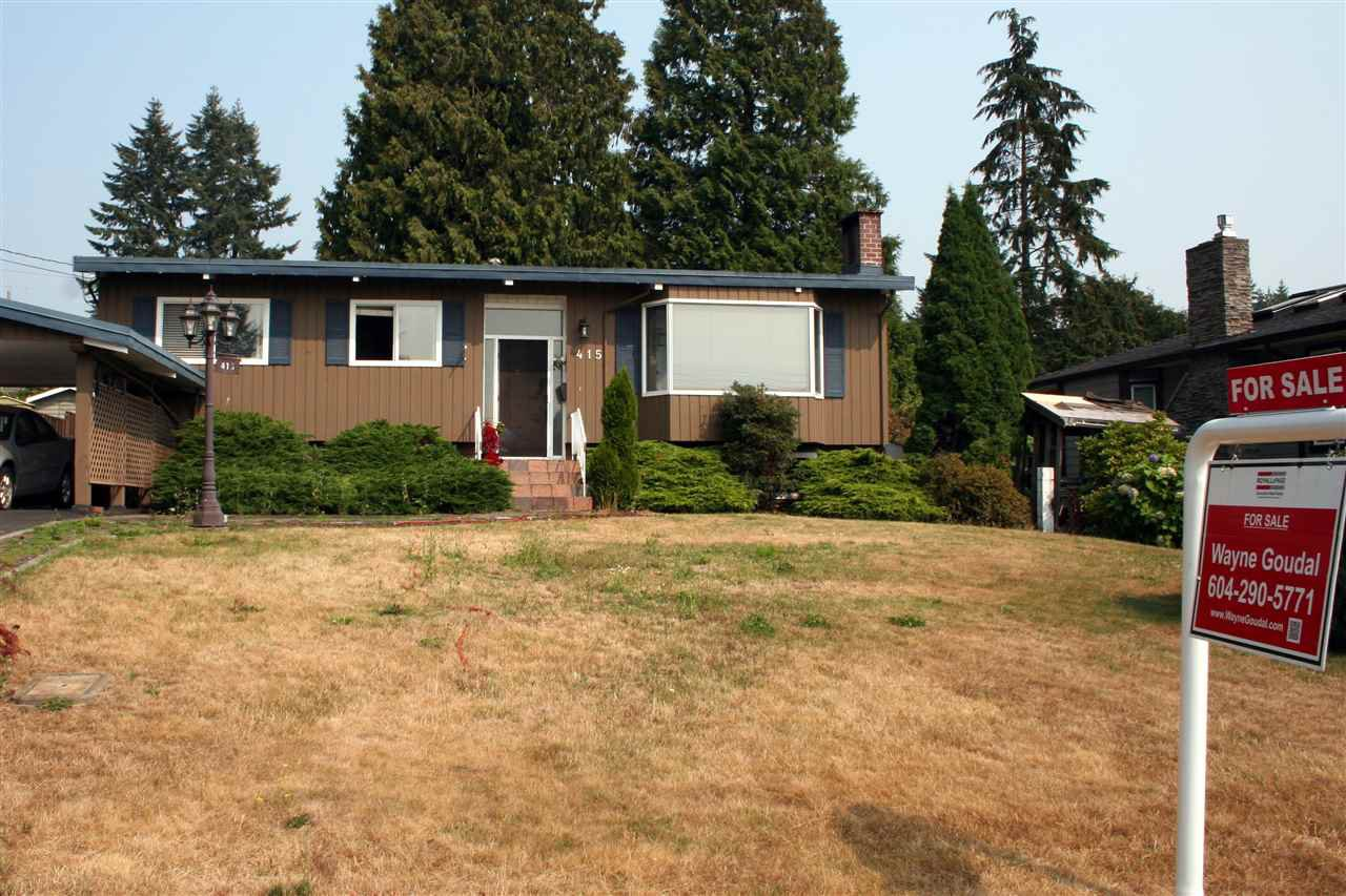 Main Photo: 415 TRINITY Street in Coquitlam: Central Coquitlam House for sale : MLS®# R2362067