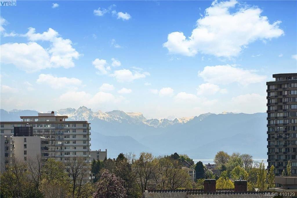 Main Photo: 1107 751 Fairfield Road in VICTORIA: Vi Downtown Condo Apartment for sale (Victoria)  : MLS®# 410129