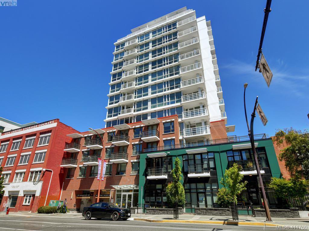 Main Photo: 906 834 Johnson Street in VICTORIA: Vi Downtown Condo Apartment for sale (Victoria)  : MLS®# 411760