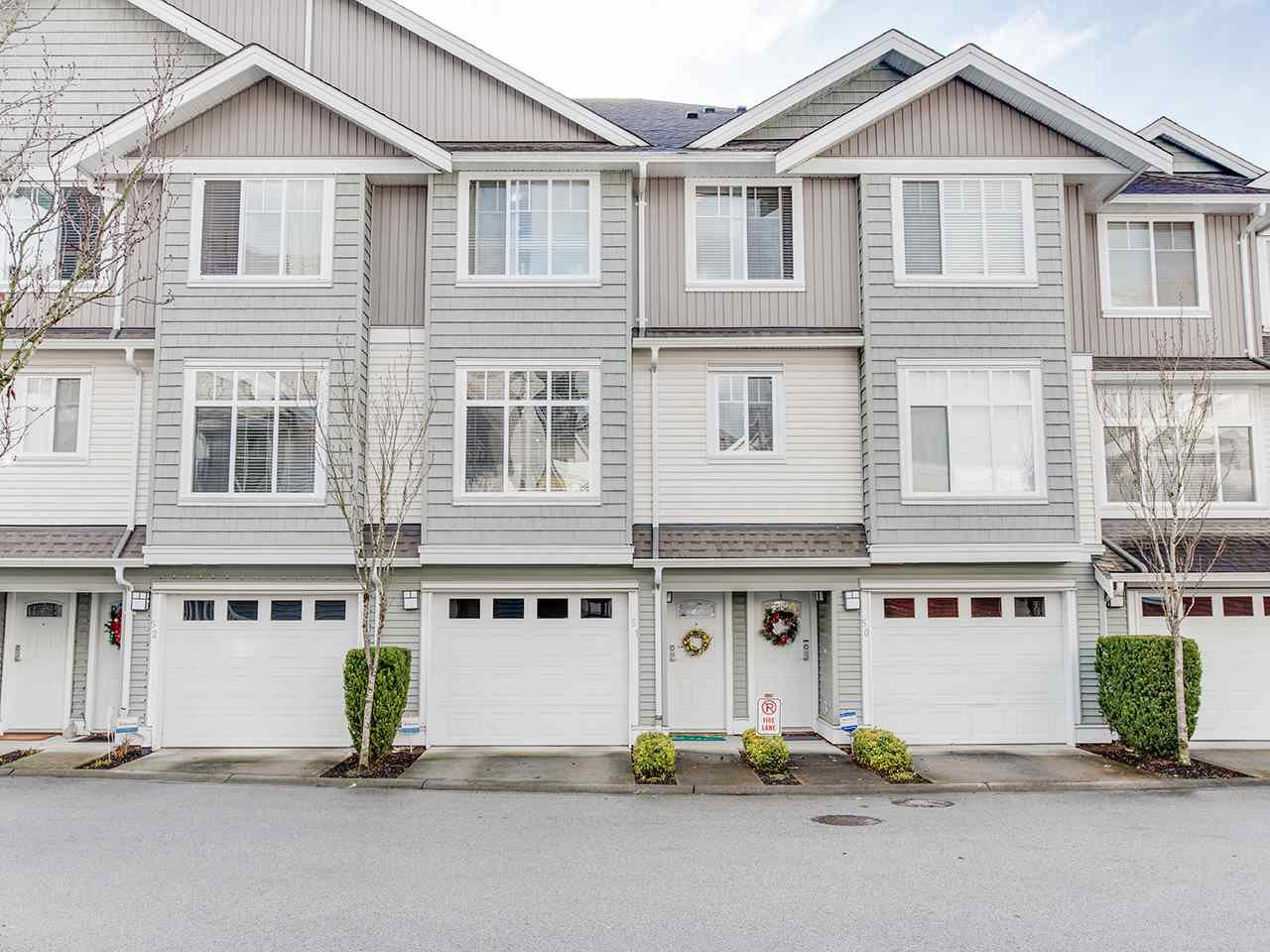 "Main Photo: 51 19480 66 Avenue in Surrey: Clayton Townhouse for sale in ""Two Blue II"" (Cloverdale)  : MLS®# R2431714"