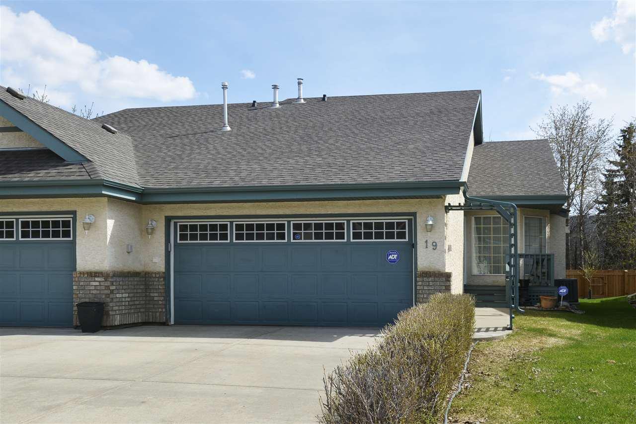 Main Photo: 19 ALANA Court: St. Albert House Half Duplex for sale : MLS®# E4198192