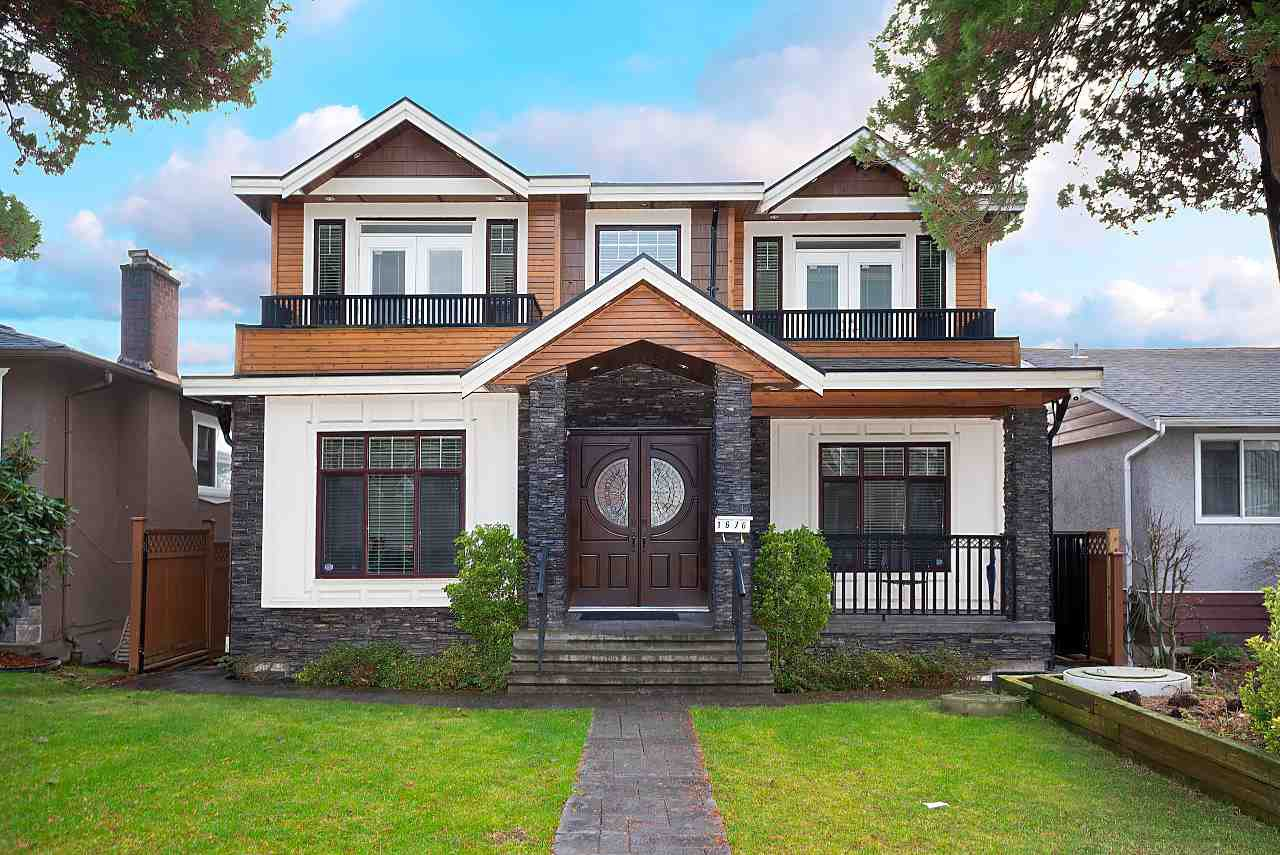 Main Photo: 1676 E 58TH Avenue in Vancouver: Fraserview VE House for sale (Vancouver East)  : MLS®# R2528167