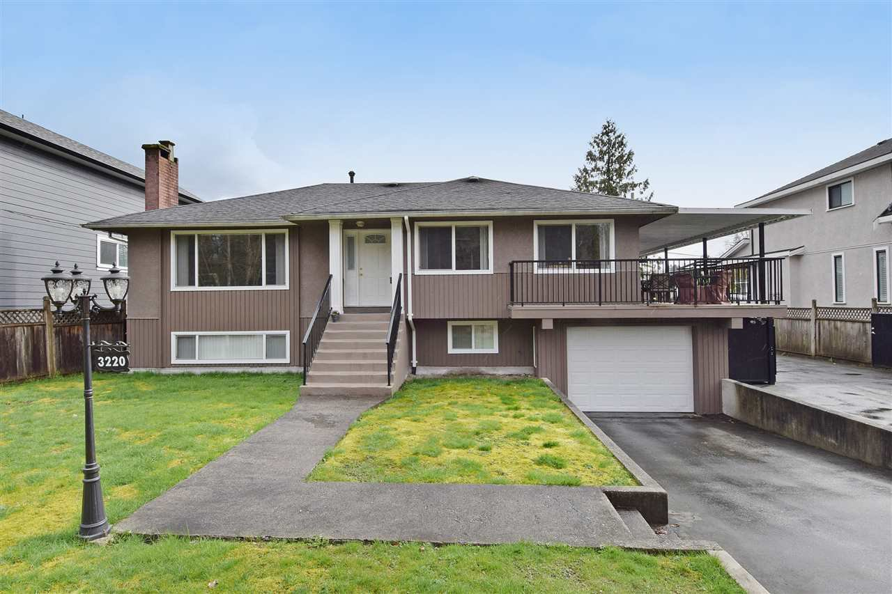 Main Photo: 3220 PHILLIPS Avenue in Burnaby: Government Road House for sale (Burnaby North)  : MLS®# R2050193