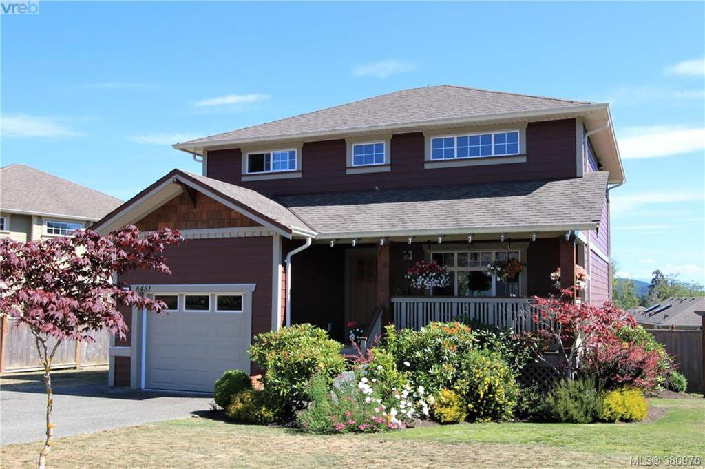 Main Photo: 6451 Willowpark Way in SOOKE: Sk Sunriver Single Family Detached for sale (Sooke)  : MLS®# 380976