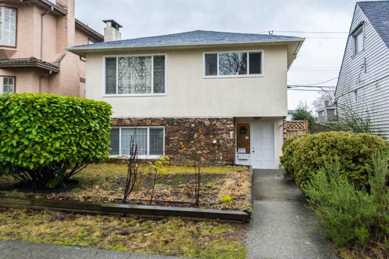 Main Photo: 2248 UPLAND Drive in Vancouver: Fraserview VE House for sale (Vancouver East)  : MLS®# R2235367