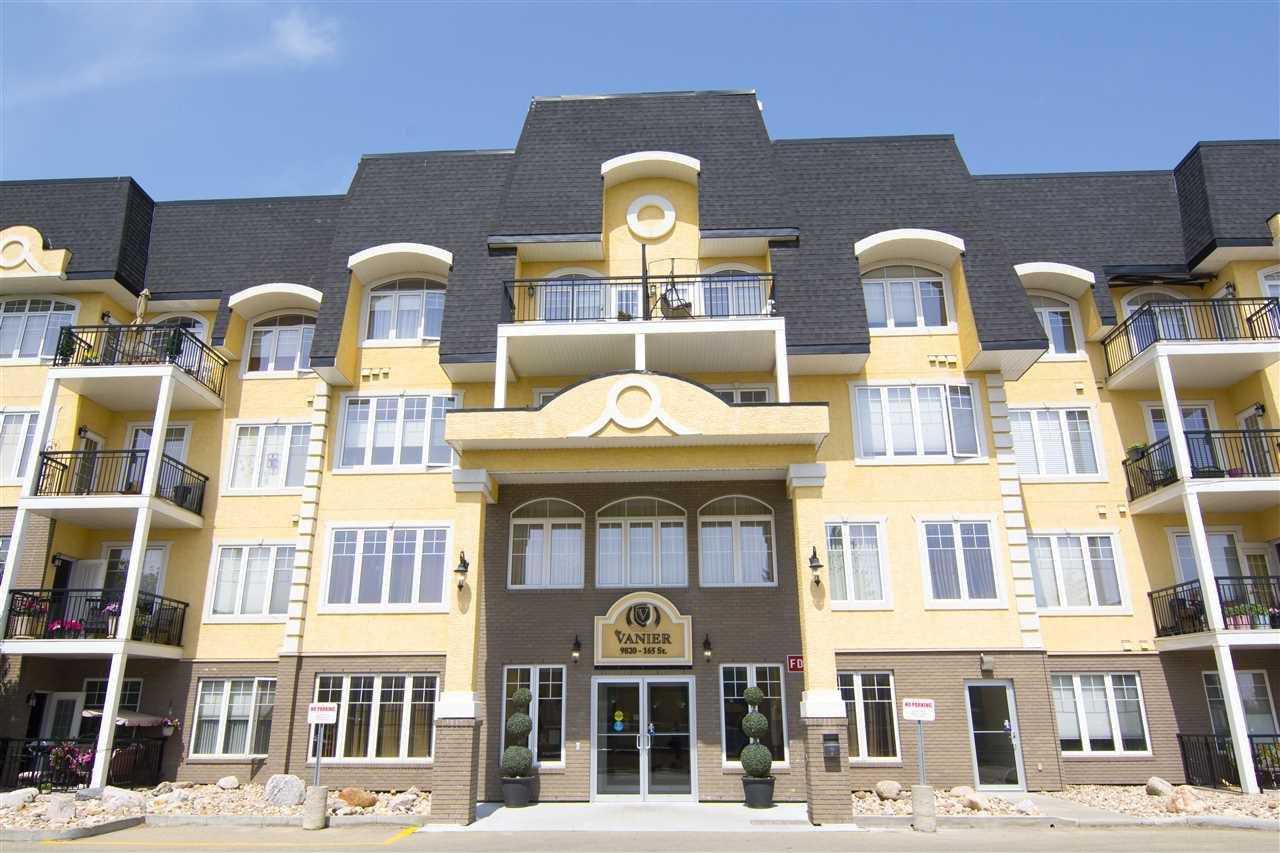 Main Photo: 205 9820 165 Street in Edmonton: Zone 22 Condo for sale : MLS®# E4115650