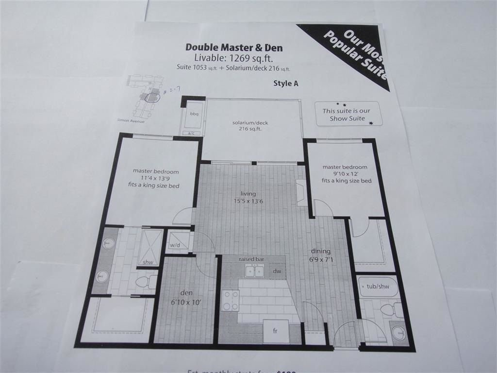 """Main Photo: 208 32445 SIMON Avenue in Abbotsford: Abbotsford West Condo for sale in """"La Galleria"""" : MLS®# R2305745"""