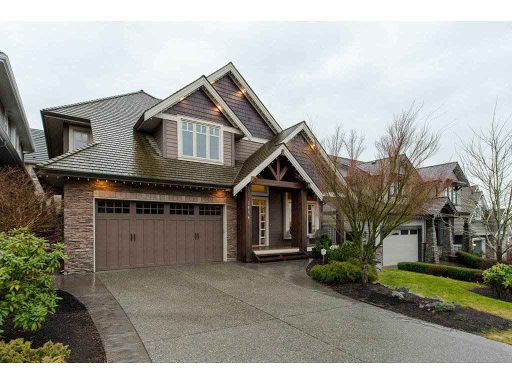 "Main Photo: 2656 LARKSPUR Court in Abbotsford: Abbotsford East House for sale in ""Eagle Mountain"" : MLS®# R2329939"