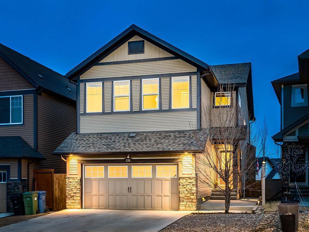 Main Photo: 230 SAGE VALLEY Green NW in Calgary: Sage Hill Detached for sale : MLS®# C4237988