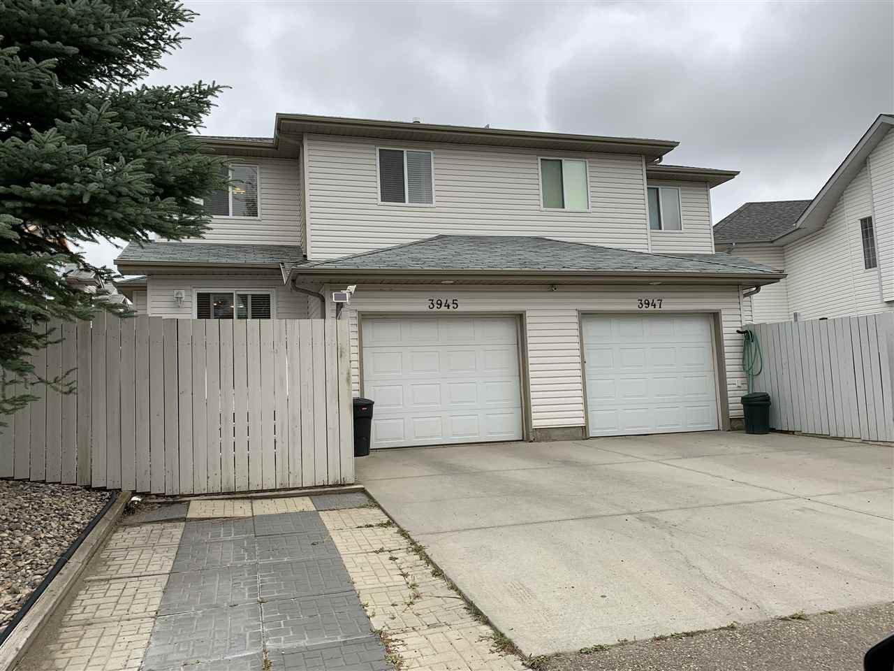 Main Photo: 3945 38 Street in Edmonton: Zone 29 House Half Duplex for sale : MLS®# E4214230
