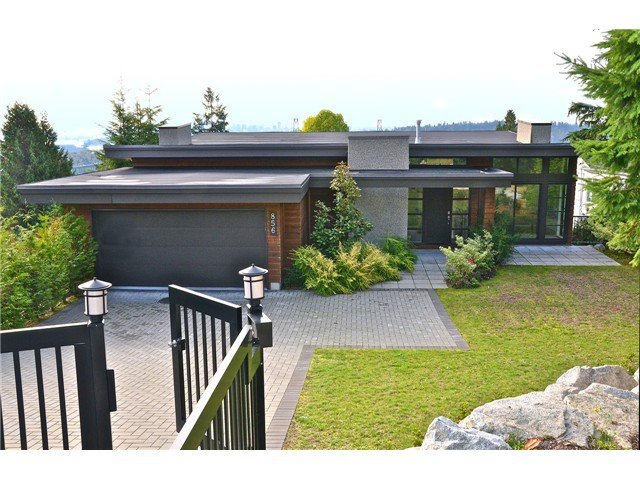 Main Photo: 856 ANDERSON Crescent in West Vancouver: Sentinel Hill House for sale : MLS®# V1030765