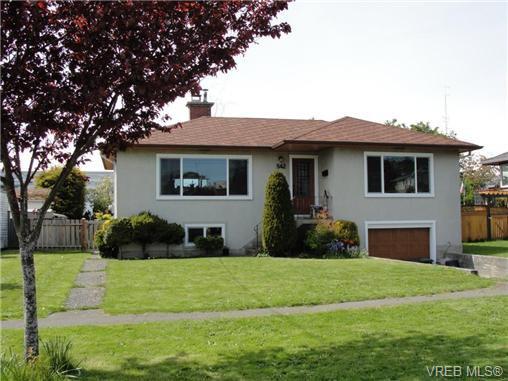 Main Photo: 542 Joffre St in VICTORIA: Es Saxe Point House for sale (Esquimalt)  : MLS®# 669680