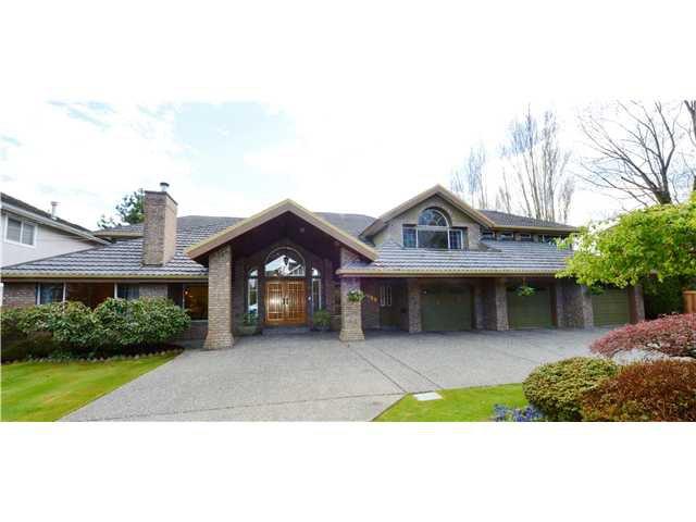 Main Photo: 3080 GRANVILLE Avenue in Richmond: Quilchena RI House for sale : MLS®# V1084470