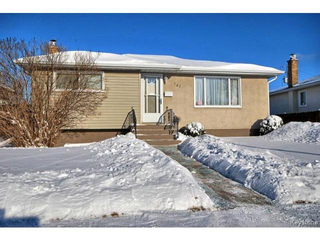 Main Photo: 741 Prince Rupert Avenue in WINNIPEG: East Kildonan Residential for sale (North East Winnipeg)  : MLS®# 1500262