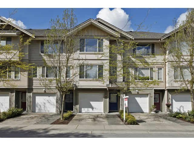 "Main Photo: 3 5388 201A Street in Langley: Langley City Townhouse for sale in ""THE COURTYARD"" : MLS®# F1439570"