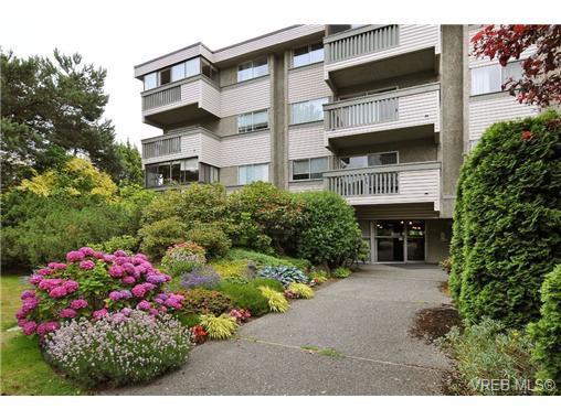 Main Photo: 308 1525 Hillside Ave in VICTORIA: Vi Oaklands Condo Apartment for sale (Victoria)  : MLS®# 707337