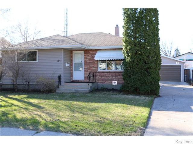 Main Photo: 154 Moore Avenue in Winnipeg: St Vital Residential for sale (South East Winnipeg)  : MLS®# 1610353
