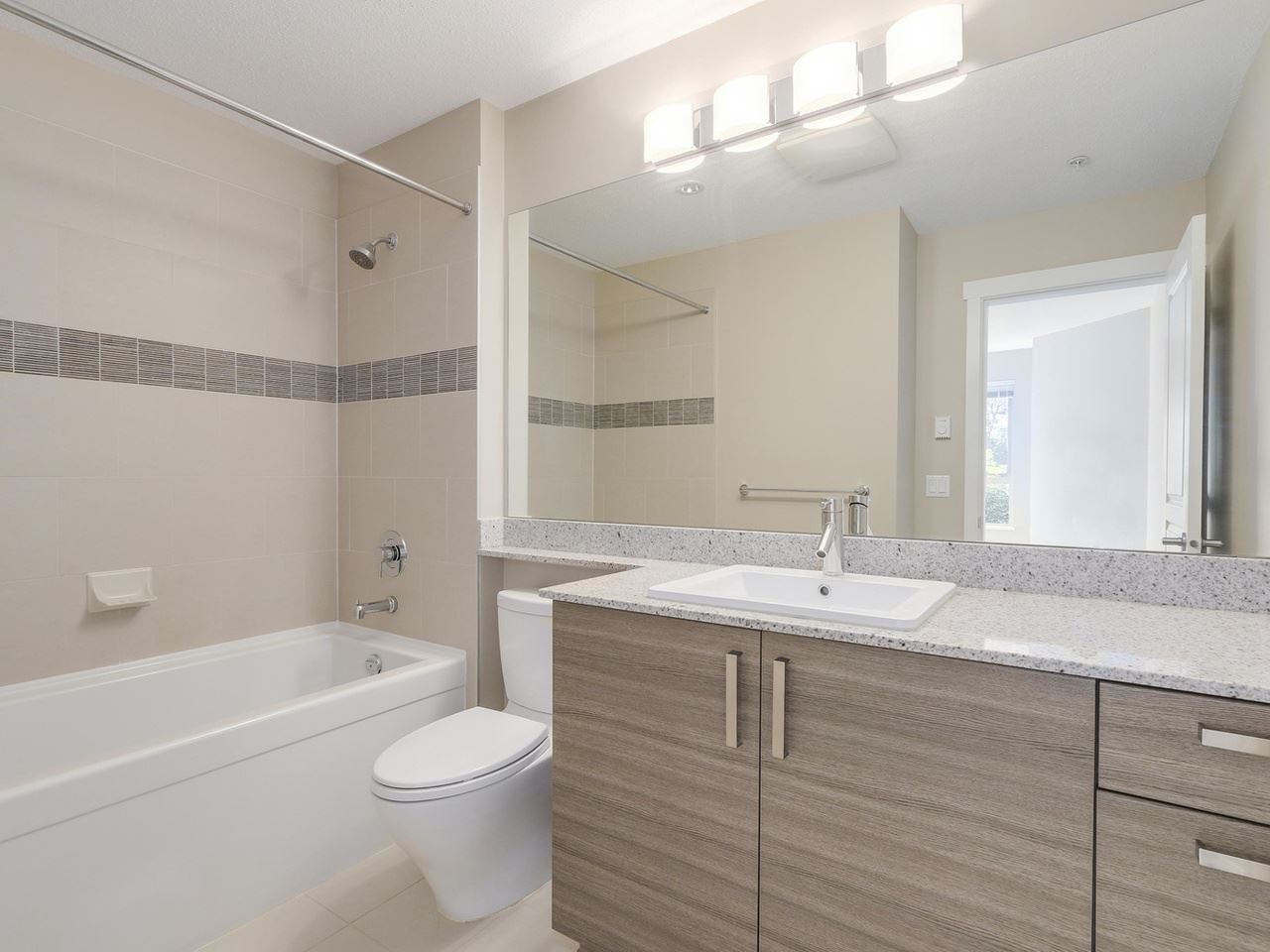 """Photo 9: Photos: 108 1150 KENSAL Place in Coquitlam: New Horizons Condo for sale in """"Windsor Gate"""" : MLS®# R2102595"""