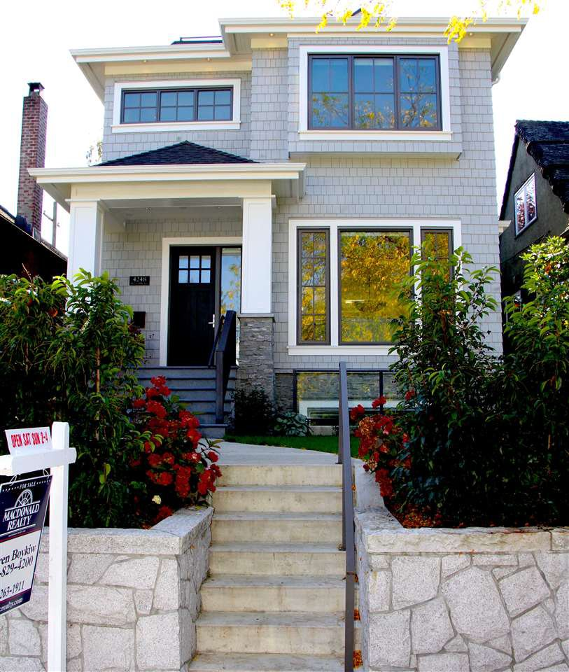 Main Photo: 4248 W 10TH Avenue in Vancouver: Point Grey House for sale (Vancouver West)  : MLS®# R2110934