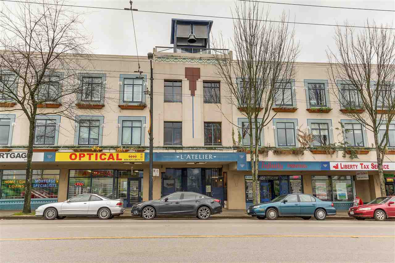 "Main Photo: 117 2556 E HASTINGS Street in Vancouver: Renfrew VE Condo for sale in ""L'ATELIER"" (Vancouver East)  : MLS®# R2119041"