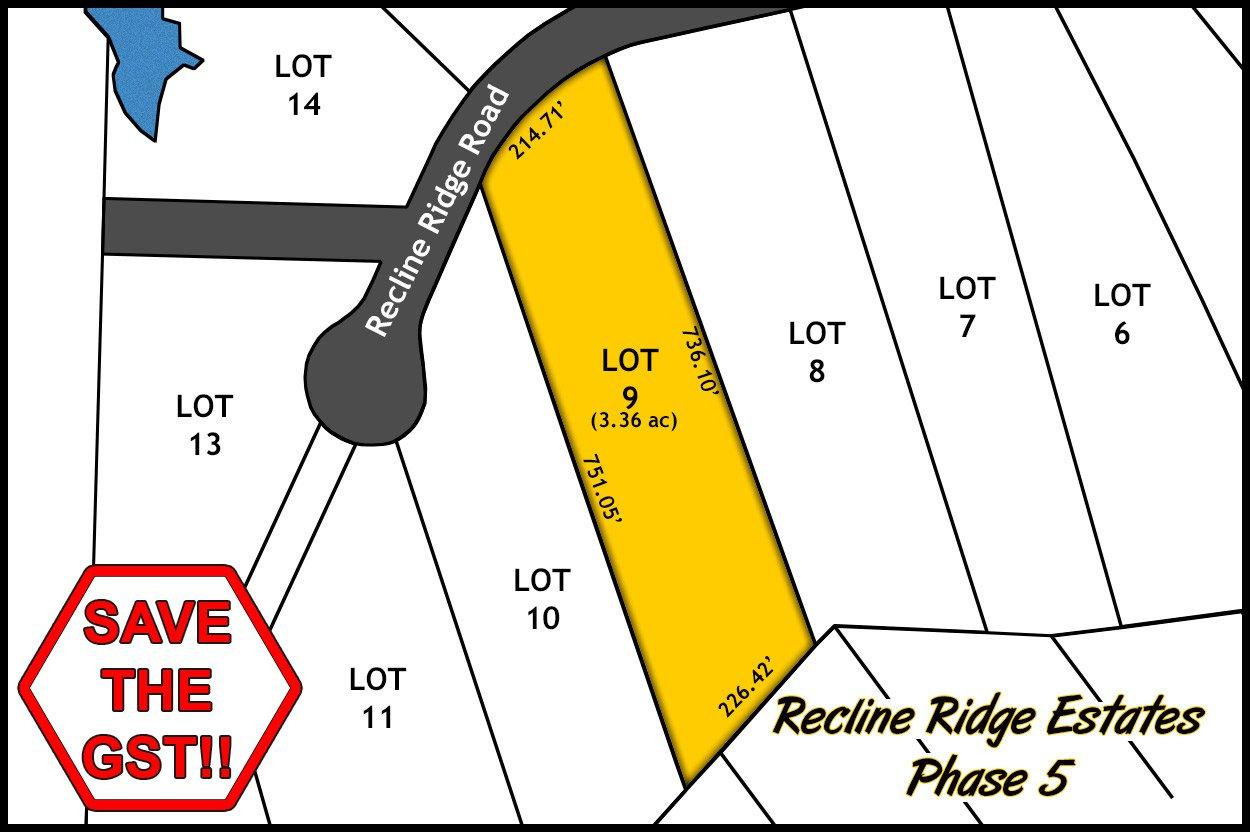 Recline Ridge Estates - Phase V - Lot 9