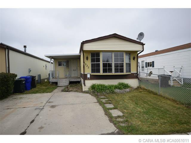 Main Photo: 5322 BIRCH Road in Olds: OS Olds Residential Mobile for sale : MLS®# CA0061011