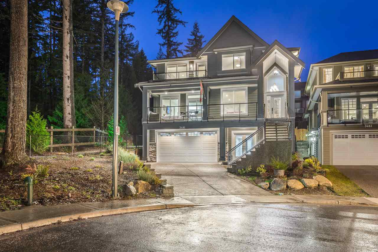 Main Photo: 3481 CHANDLER Street in Coquitlam: Burke Mountain House for sale : MLS®# R2232206