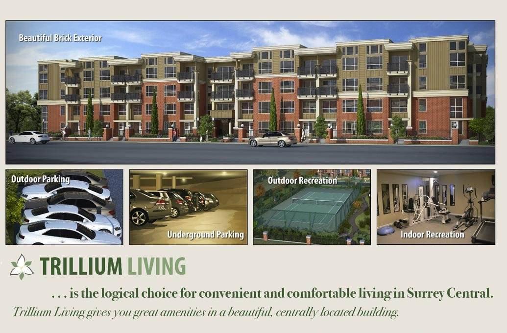 "Main Photo: 202 10688 140 Street in Surrey: Whalley Condo for sale in ""TRILLIUM LIVING"" (North Surrey)  : MLS®# R2279389"