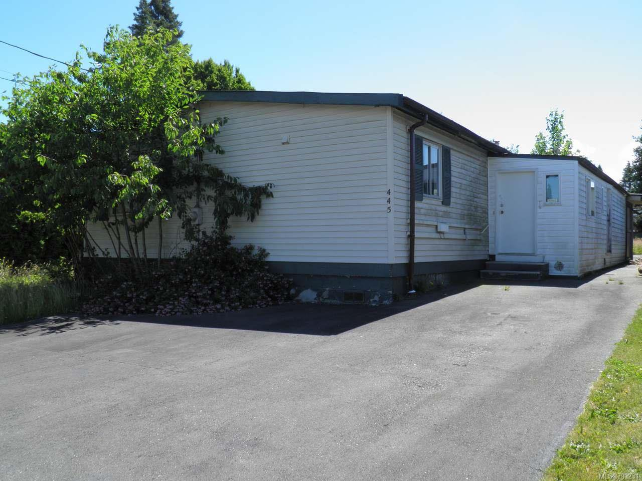 Main Photo: 445 Cowichan Ave in COURTENAY: CV Courtenay East Manufactured Home for sale (Comox Valley)  : MLS®# 793231