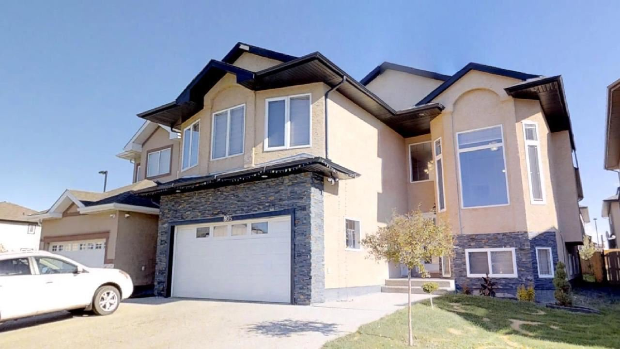 Main Photo: 805 WILDWOOD Crescent in Edmonton: Zone 30 House for sale : MLS®# E4179559