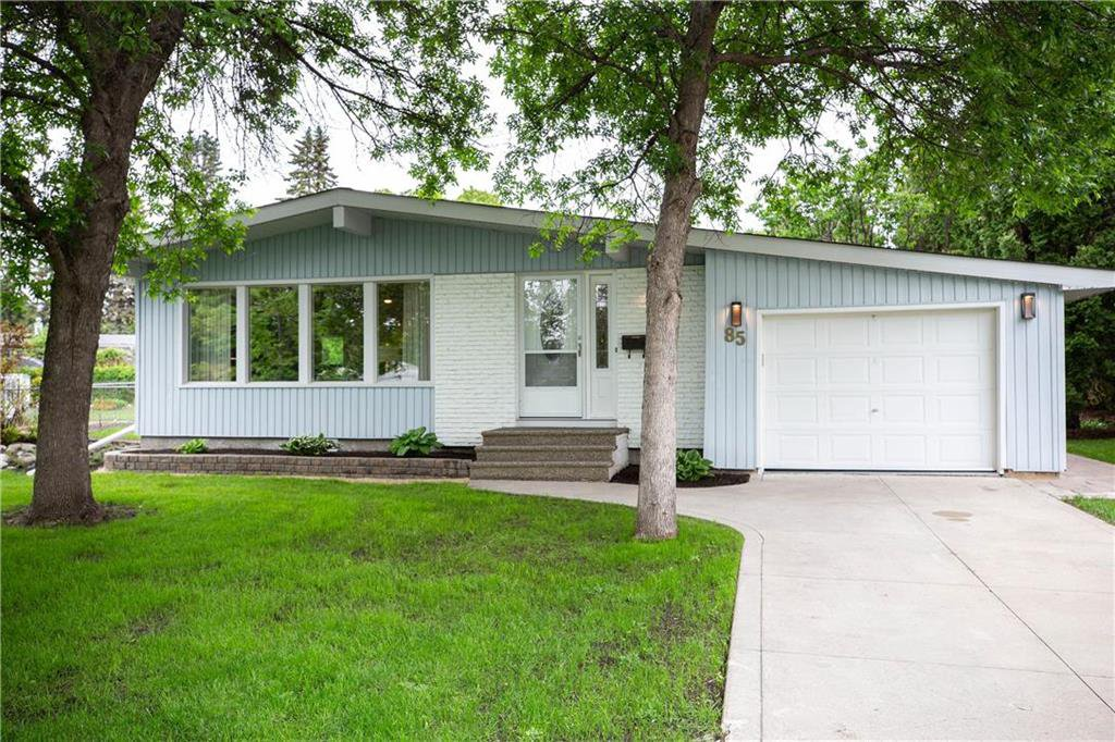 Photo 1: Photos: 85 Holt Drive in Winnipeg: Residential for sale (5G)  : MLS®# 202013221