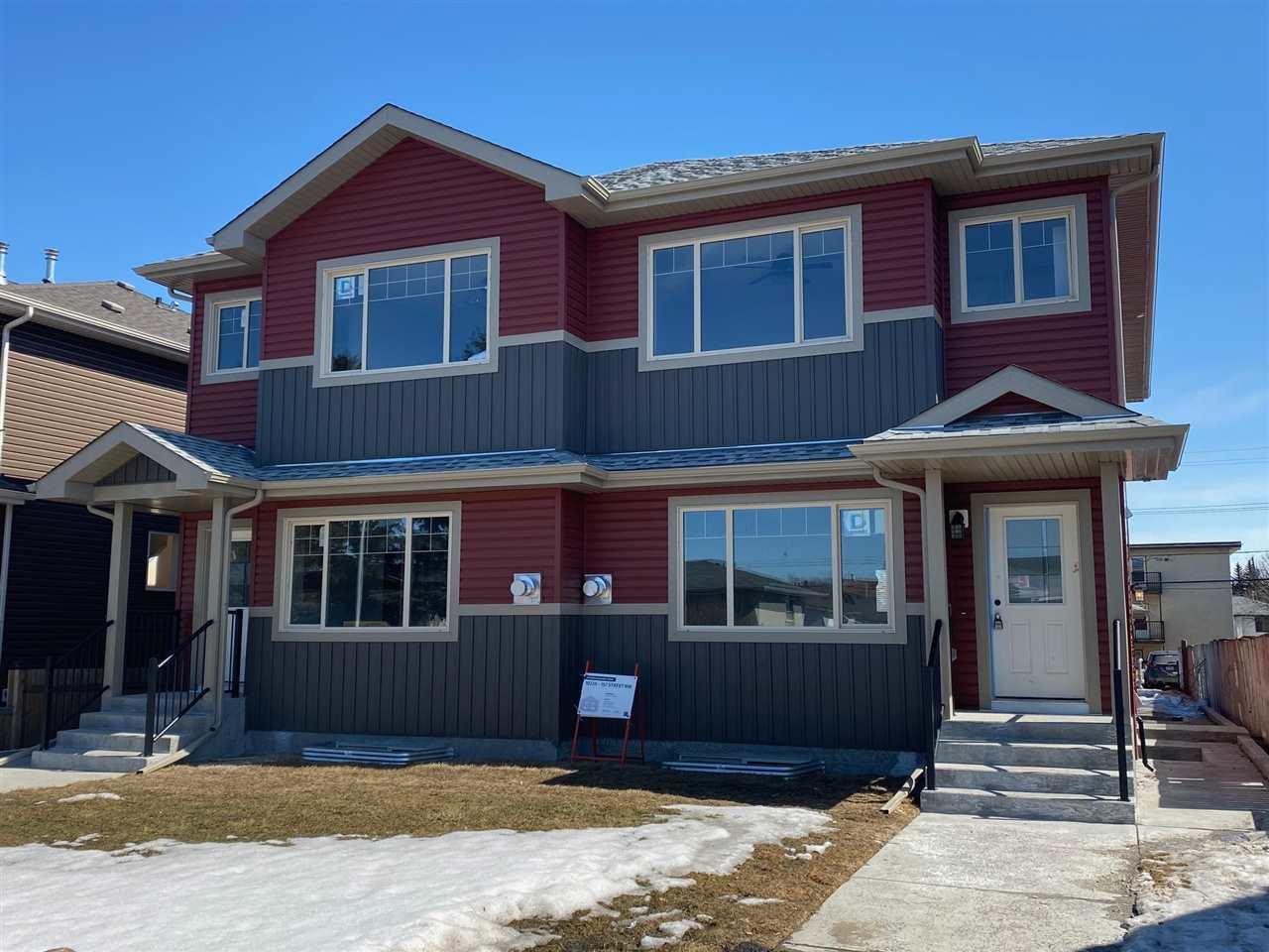 Main Photo:  in Edmonton: Zone 21 House Half Duplex for sale : MLS®# E4204330