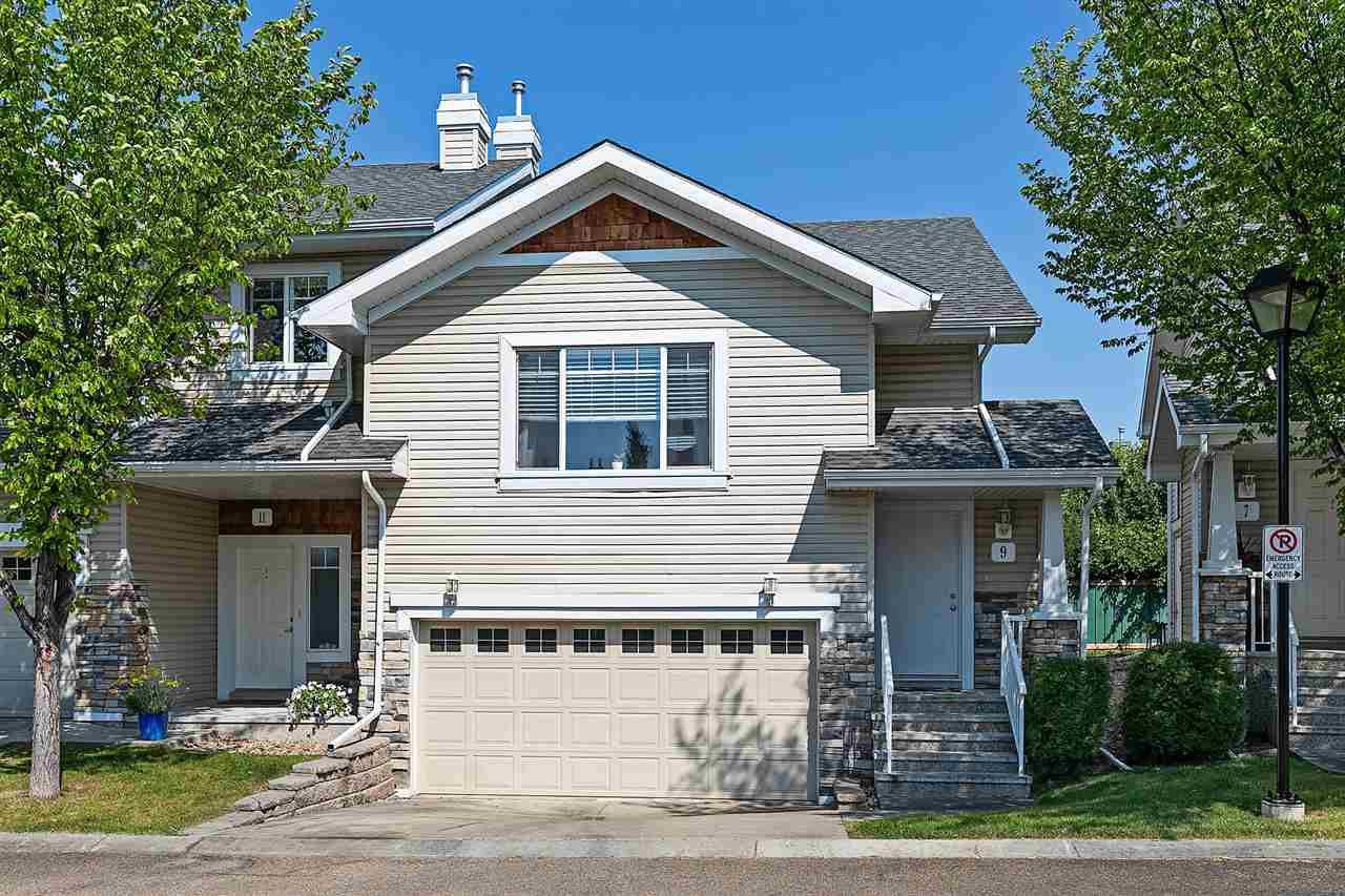 Main Photo: 9 2508 HANNA Crescent in Edmonton: Zone 14 Townhouse for sale : MLS®# E4208730