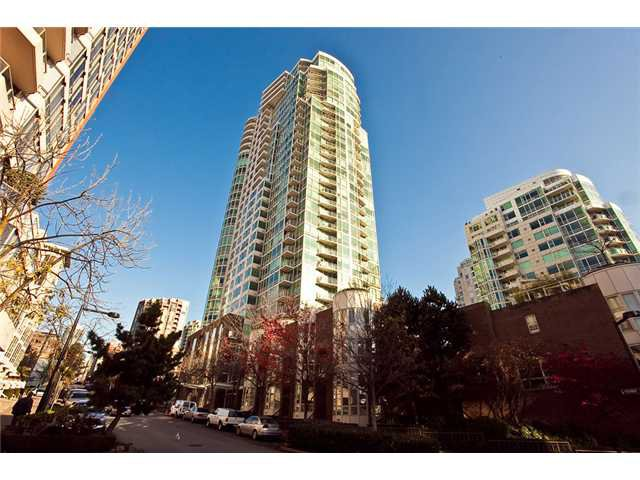 Main Photo: 1210 1500 HORNBY Street in Vancouver: Yaletown Condo for sale (Vancouver West)  : MLS®# V993078