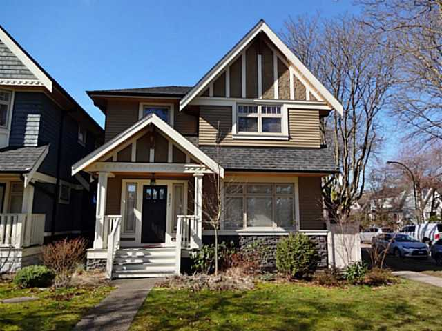 Exterior Front: Gorgeous character home in most prestigious Point Grey neighborhood