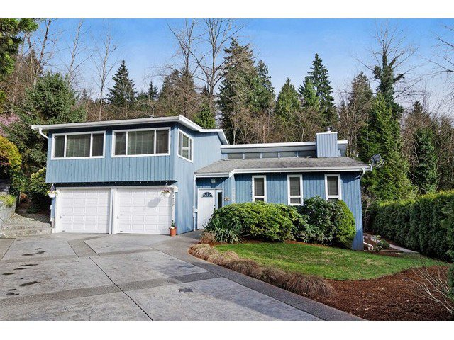 Main Photo: 1259 CHARTER HILL Drive in Coquitlam: Upper Eagle Ridge House for sale : MLS®# V1108710