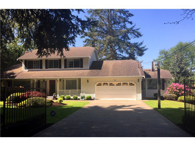 Main Photo: 2611 168TH Street in Surrey: Grandview Surrey House for sale (South Surrey White Rock)  : MLS®# F1435071