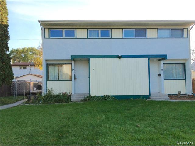 Main Photo: 17 Wickham Road in WINNIPEG: Windsor Park / Southdale / Island Lakes Residential for sale (South East Winnipeg)  : MLS®# 1527140