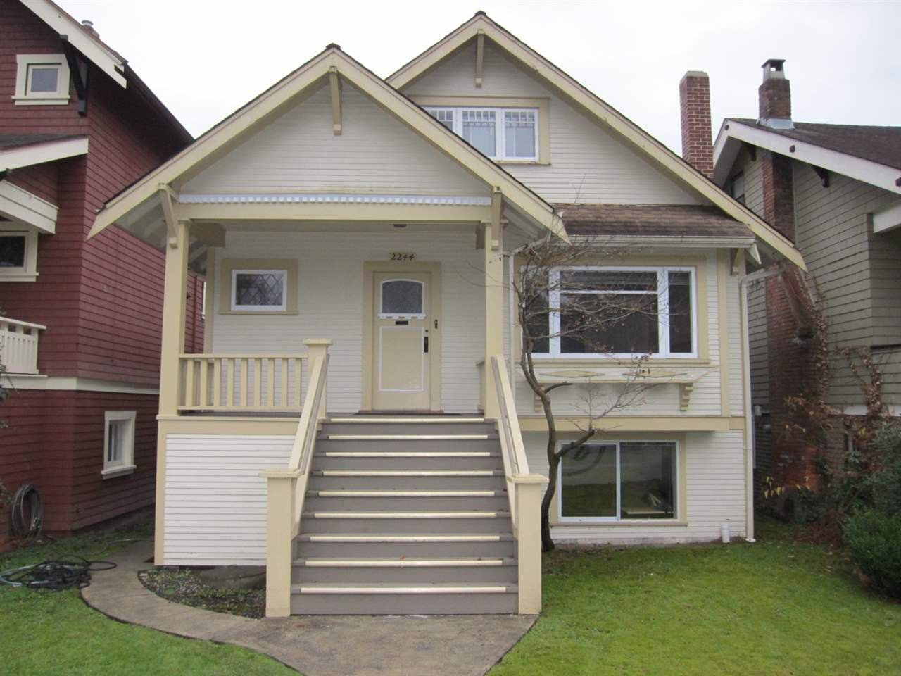Main Photo: 2244 W 37TH Avenue in Vancouver: Kerrisdale House for sale (Vancouver West)  : MLS®# R2036976