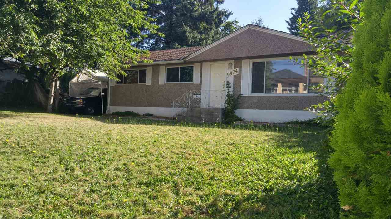 Main Photo: 9974 138 Street in Surrey: Whalley House for sale (North Surrey)  : MLS®# R2097494