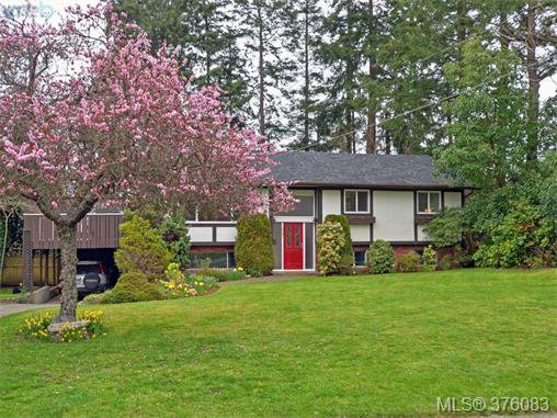 Main Photo: 4561 Montford Crescent in VICTORIA: SE Gordon Head Single Family Detached for sale (Saanich East)  : MLS®# 376083