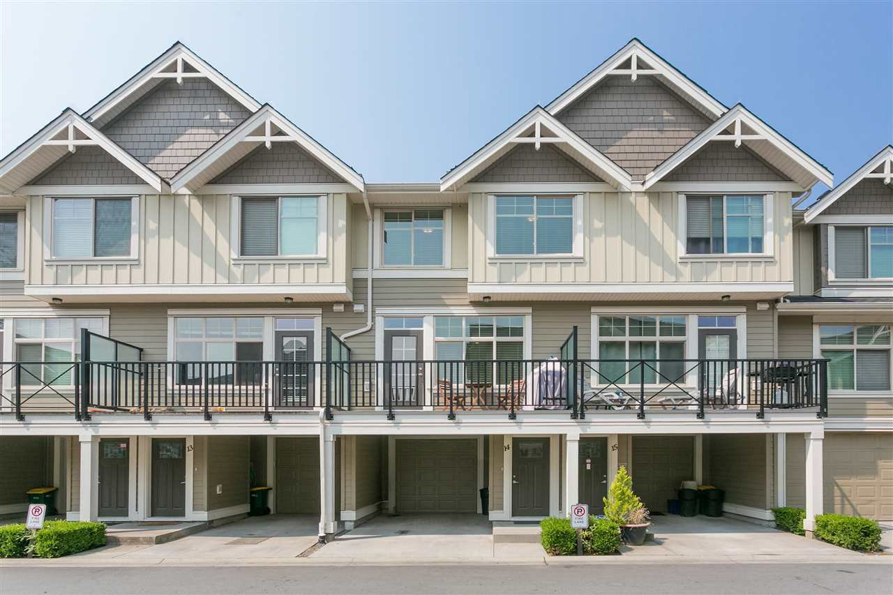 "Main Photo: 14 19525 73 Avenue in Surrey: Clayton Townhouse for sale in ""UPTOWN"" (Cloverdale)  : MLS®# R2197473"