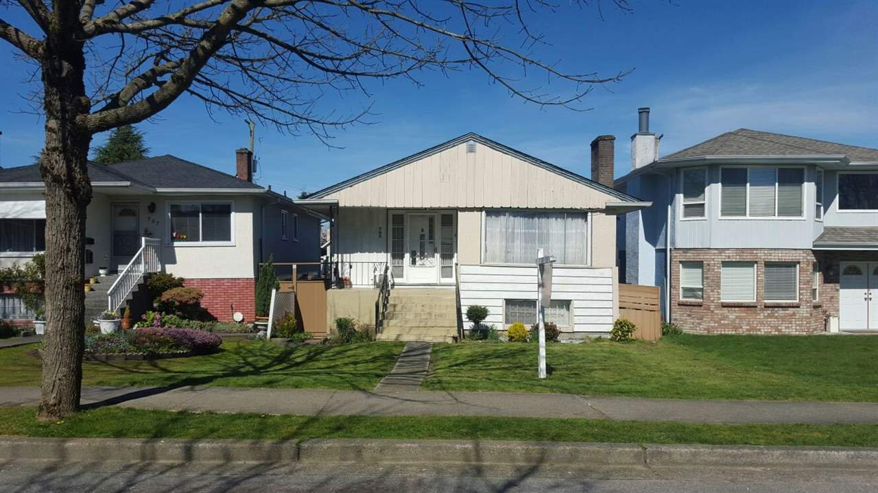 Main Photo: 765 E 39TH Avenue in Vancouver: Fraser VE House for sale (Vancouver East)  : MLS®# R2338426