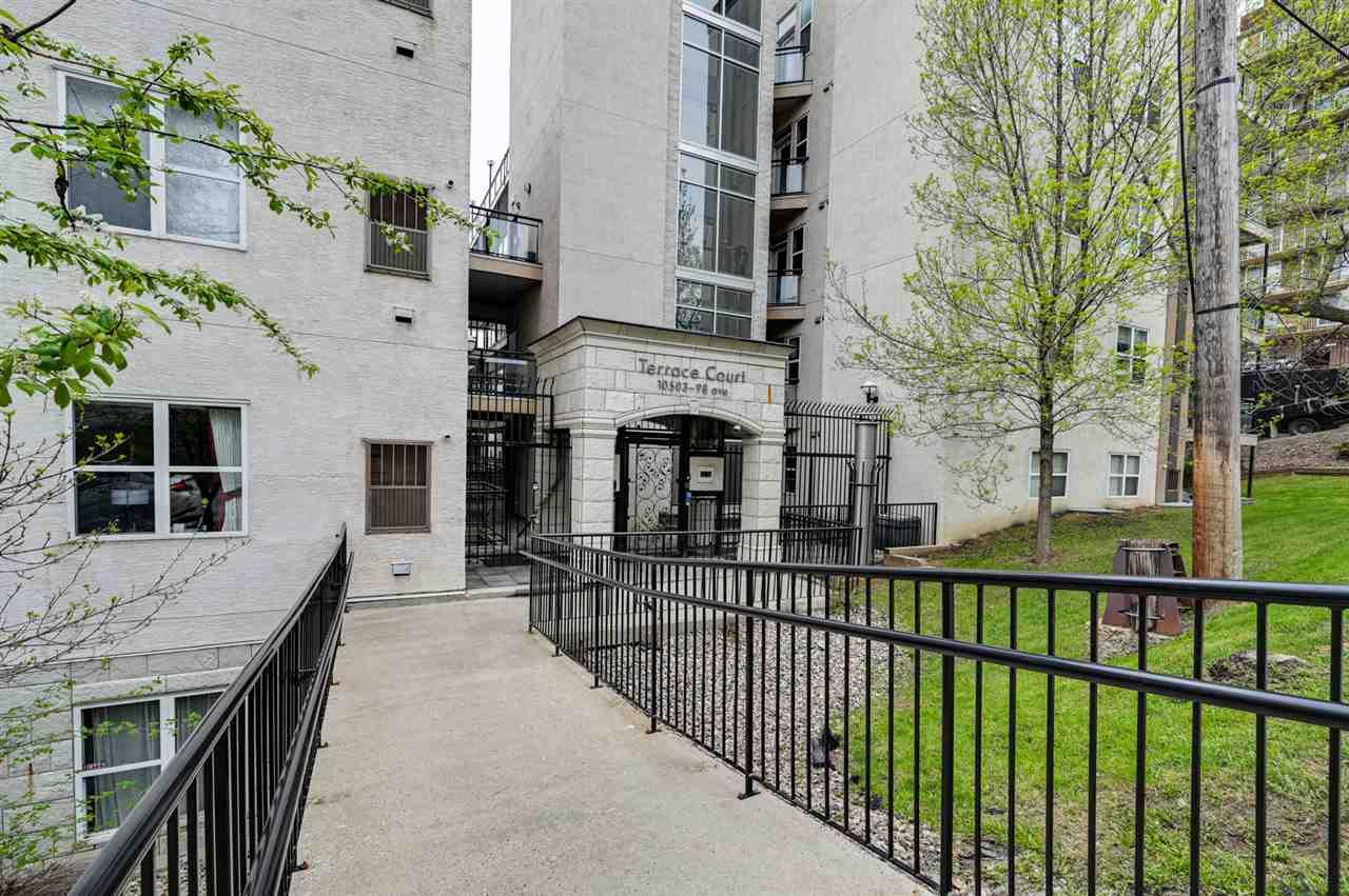 Main Photo: 402 10503 98 Avenue in Edmonton: Zone 12 Condo for sale : MLS®# E4193104