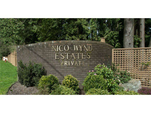 Main Photo: 12 14065 NICO WYND Place in Surrey: Elgin Chantrell Home for sale ()  : MLS®# F1440781