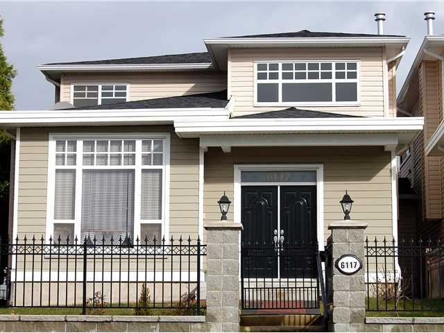 Main Photo: 6117 LOCHDALE Street in Burnaby: Parkcrest House 1/2 Duplex for sale (Burnaby North)  : MLS®# V872473