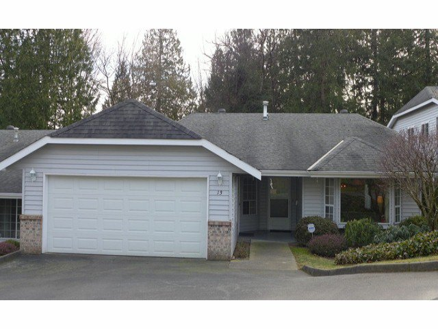 """Main Photo: 13 33020 MACLURE Road in Abbotsford: Central Abbotsford Townhouse for sale in """"WILLBAND CREEK ESTATES"""" : MLS®# F1404024"""