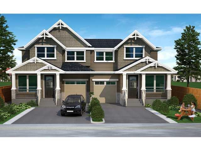 "Main Photo: 19420 117TH Avenue in Pitt Meadows: South Meadows House 1/2 Duplex for sale in ""BONSON PARKS"" : MLS®# V1055980"